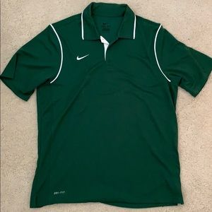 Nike Dri-Fit Collar Shirt Size Large
